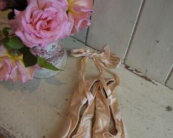 vintage Ballet Slippers - Ballet Shoes Made in England