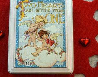 Mary Engelbreit Two Hearts Valentine's Tin
