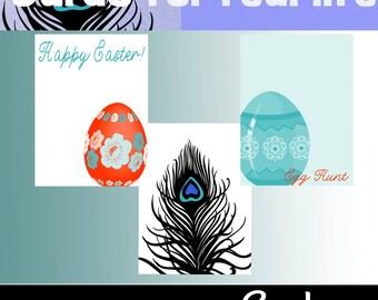 Only .49! Easter/Spring Pocket Pages 3x4 Cards. Digital or Printable.