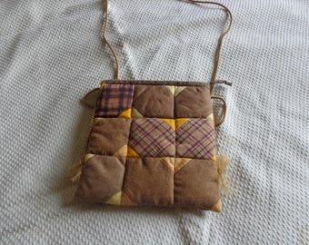 made patchwork bag