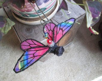 Butterfly Ornament - Rainbow of Colors - Birthday Gift - Housewarming Gift