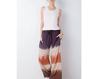 boho pants, wide leg pants, harem pants, bohemian pants, womens palazzo pants, gypsy pants, yoga pants, flared pants