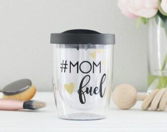 Mom Fuel // Wine Glass // Mom Wine Glass // Mom Cup
