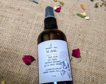 Rose Oil | Rose Orange Facial Serum | Pomegranate Seed Oil | Hair Serum | Avocado Oil |  | Face Oil | Vegan | Organic Rice Bran Oil | Beard