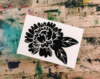 Flower Decal | Flower vinyl sticker