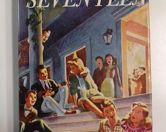 Seventeen by Booth Tarkington Thrushwood Books 1952 Vintage Hardcover Book