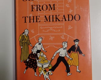 Gift From the Mikado by Elizabeth P. Fleming Weekly Reader Children's Book Club Westminster Press 1958 Vintage Kids Hardcover