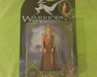 Warriors of Virtue Play 'Em Toys, Elysia Action Figure, 1997
