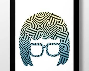 Tina Art Print - 11x17