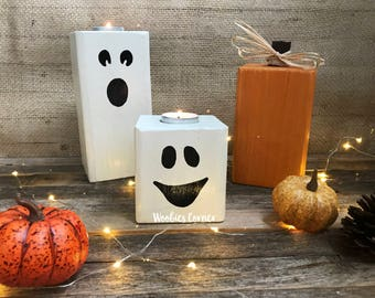 rustic fall decor etsy - Rustic Halloween Decorations