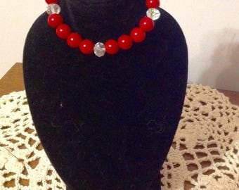 """Red Jewelry Set for Your 18"""" Doll or American Girl Doll."""