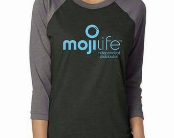 Ready to Ship MojiLife Tees, MojiLife Shirts, AirMoji, MojiLife Tshirt, MojiLife swag, MojiLife Baseball tee, MojiLife Shirt, Network Market
