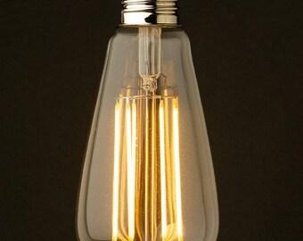 LED E27 Filament Style Bulb 6W