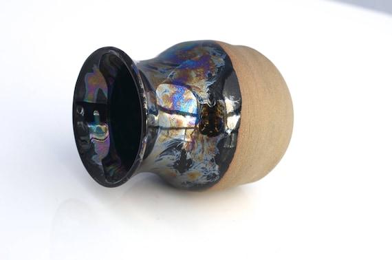Black Pearl bud vase