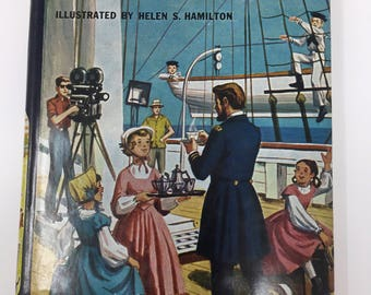 Vintage Happy Hollisters and the Old Clipper Ship by Jerry West, First Edition, 1966