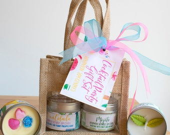 Cocktail Party Candle Gift Set