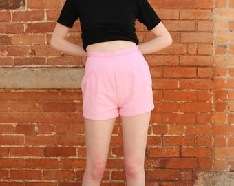 Vintage High Waisted 1960s Shorts