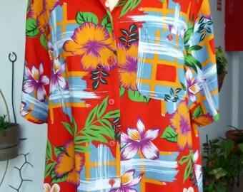 Women hawaiian shirt, size eur 44
