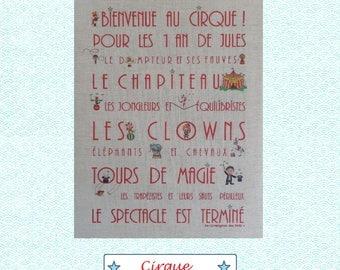 "Linen custom theme ""Circus"""
