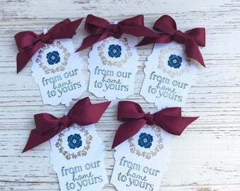 5 Thanksgiving Tags - Thanksgiving Tags -  Thanksgiving Favor Tags -  Gift Tags -  Autumn Tags -  Fall Tags - Thanksgiving Party