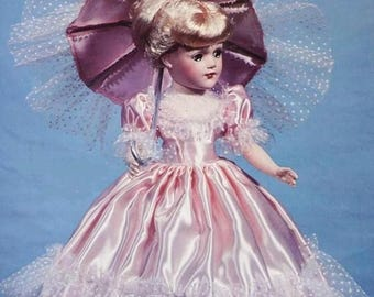 Doll Clothes Pattern, PDF Pattern, 14 Inch, Mary Hoyer, Dolly Madison, Vintage Pattern, Sewing Pattern, Vintage Sewing, Digital Download