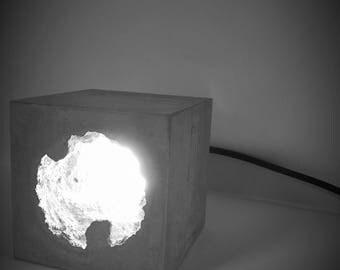 Concrete Cave Light