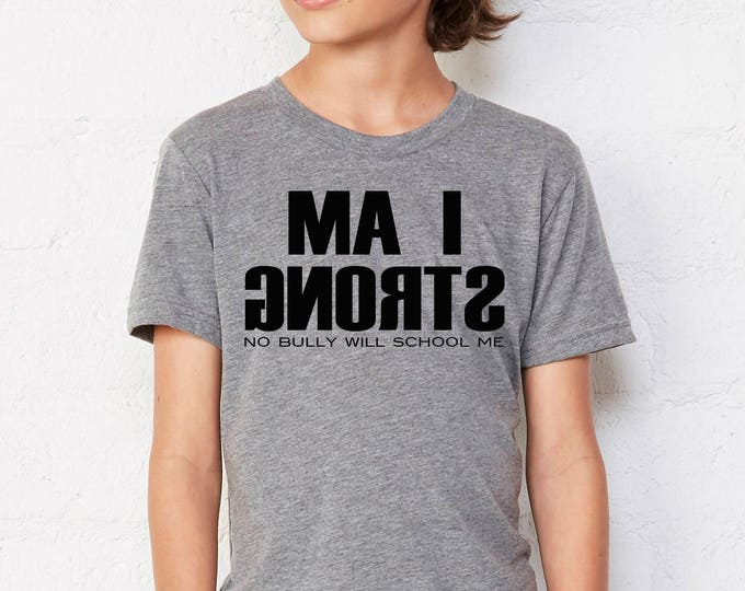 Youth Unisex I Am Strong (Mirror View)