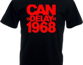 Can 'Delay 1968' T-Shirt - Deutschland, Krautrock, Various Sizes/Colours