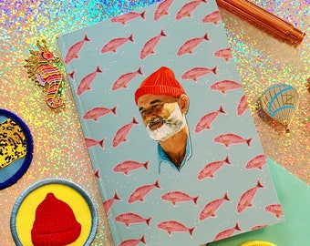 Life Aquatic Notebook - Wes Anderson Inspired
