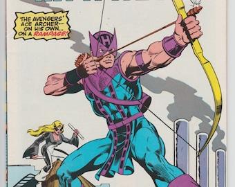 Hawkeye #1 1983 First Series The Avengers Ace Archer Marvel Comics 1980s Mockingbird Comic Book