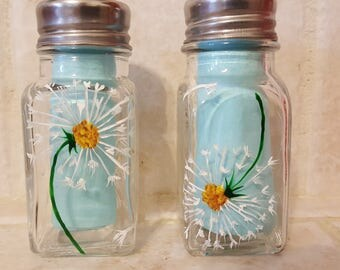 Dandelions - Salt and Pepper Shakers (set of two)