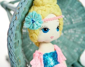 Matilda: Handmade Cloth Doll by Manolitas