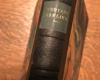 Antique book by Rudyard Kipling, Then the Light Disappeared, 1929, in Swedish.