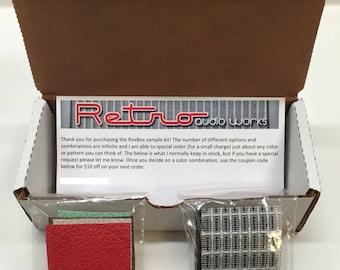 RoxBox Sample Kit - Sample Tolex & Grill Cloth