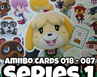 Series 1 - Animal Crossing Amiibo Cards