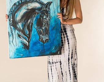 Allegro - Friesian Dressage Horse