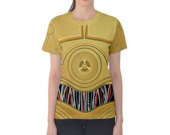 Women's C3PO Star Wars Inspired Shirt