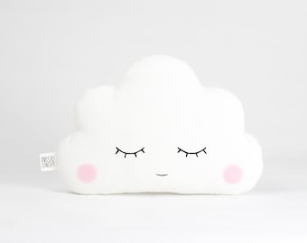 Cloud Pillow, Сloud Cushion, baby girl nursery decor, baby pillow new baby gifts baby shower gift kids pillow with name personalized gift