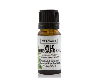 Wild Oil Of Oregano .33oz/10ml Mediterranean Origin 100% Pure Certified  Undiluted ,Best Quality Guarantee!!!!