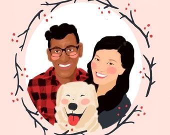Custom Couple Portraits