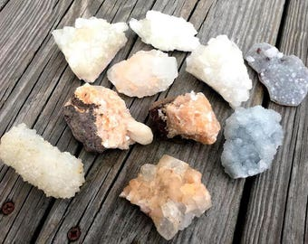 Apophylite Clusters