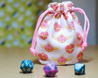 Sailor Moon Drawstring Pouch Dice Bag