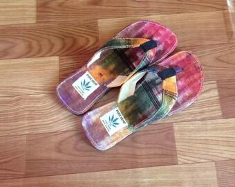 Pure Hemp THC Free Bohemian Sandals