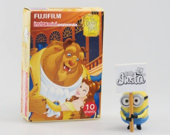 Fujifilm Instax Mini Film Beauty and the Beast - For Instax Mini 7, 8, 8+, 9, 25, 50, 70, 90, SP-1, SP-2 Polaroid PIC 300