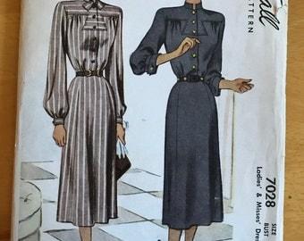 Vintage McCalls Dress Pattern