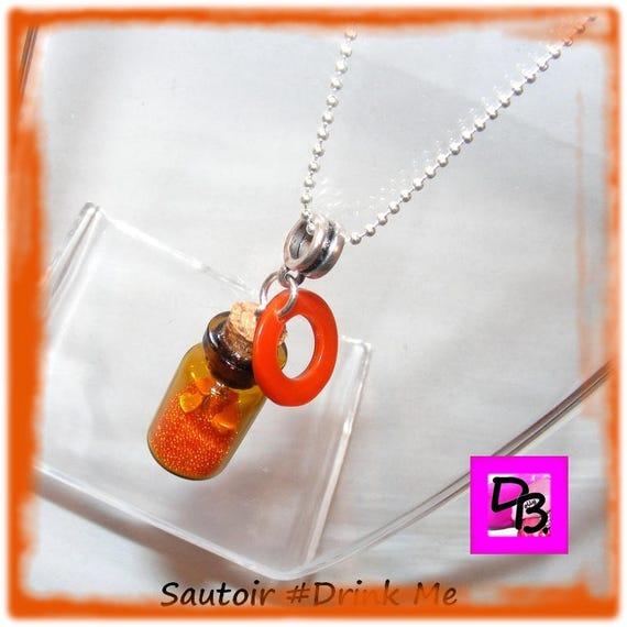 Sautoir Fiole [Drink Me!]