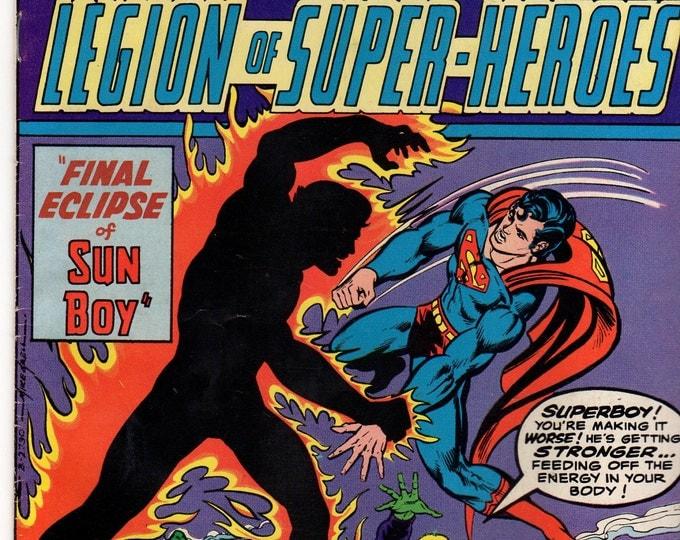 Superboy Comic Book #215 DC Comics 1976 VG-F Sun Boy