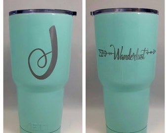 Custom YETI Mug, Personalized Tumbler, Personalized YETI , Gift for Him, Gift for Her, Birthday Present, Engraved Mug