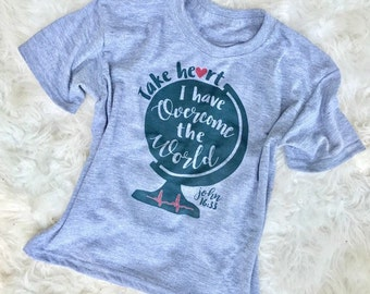 Adoption Fundraiser Tee // hand lettered // CHD shirt