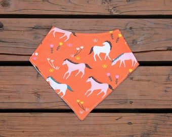 Bandana Drool Bib - Stay Gold, Ponies